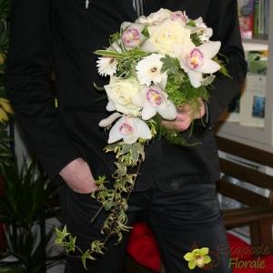 Bouquet de mariée Pureté, variante