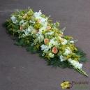 Dessus de cercueil champêtre