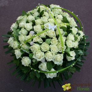 Brassée de Roses blanches