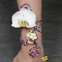 Bracelet Strass Phalaenopsis