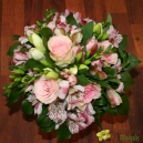 Bouquet demoiselle rose pastel
