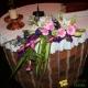 Composition Autel tons rose et violet