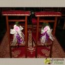 Eglise - Noeud de chaises des mariés