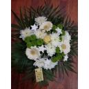 bouquet de noel blanc et vert