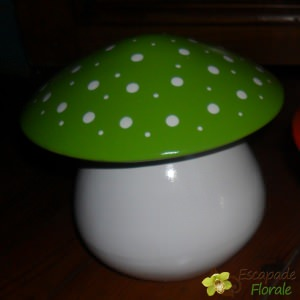Tirelire Champignon Pomme Pidou