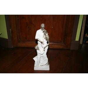 Figurine en résine - Couple avec enfant