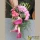 Bouquet de mariée Cascade de Calla rose