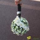Boule fleurie
