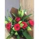 Bouquet 5 ROSE  ET 3 LYS 26€